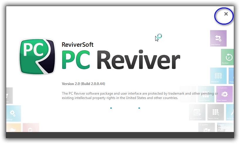 PC Reviver アプリをアンインストール