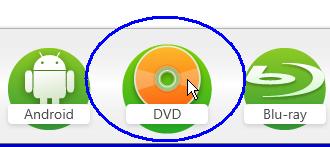 ビデオDVD(メニュー無し)の作成